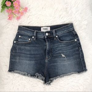 ✨🌈 Pink Victoria's Secret Jean shorts 🌈✨